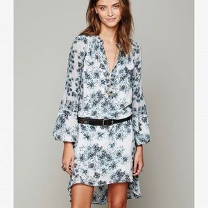 Free People | Peacemaker Floral High Low Dress